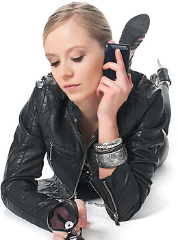 Fetisch Girl am Telefon